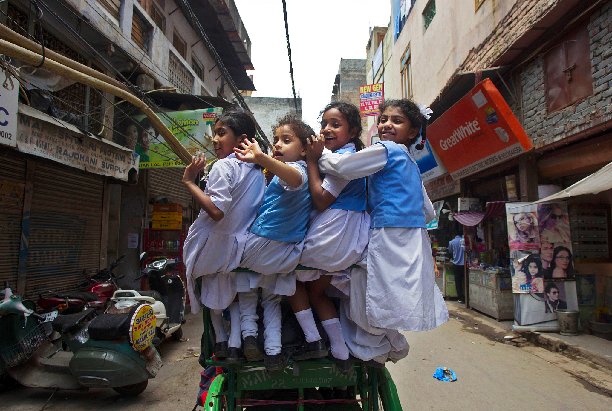 India School Children